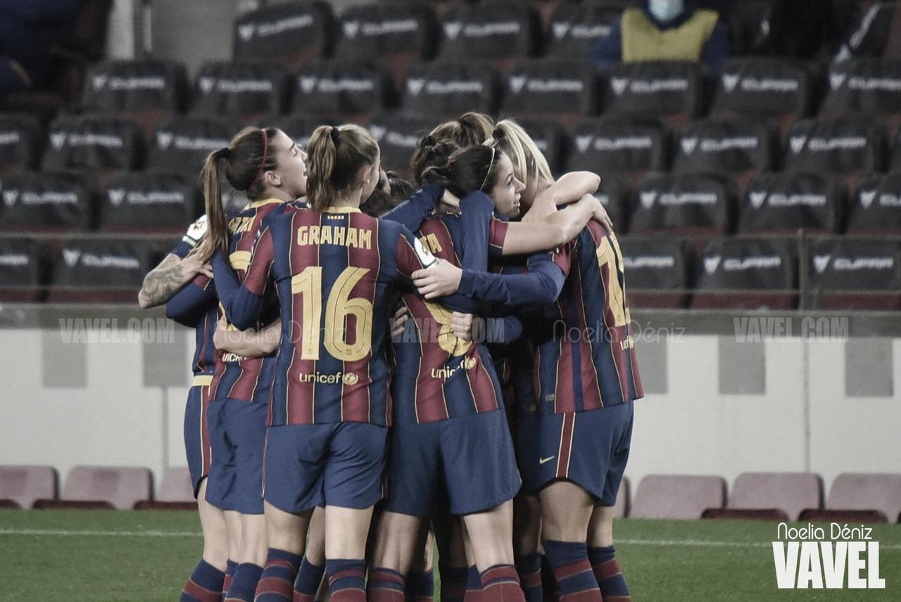 Resumen Granadilla vs Barcelona en Primera Iberdrola (0-1)