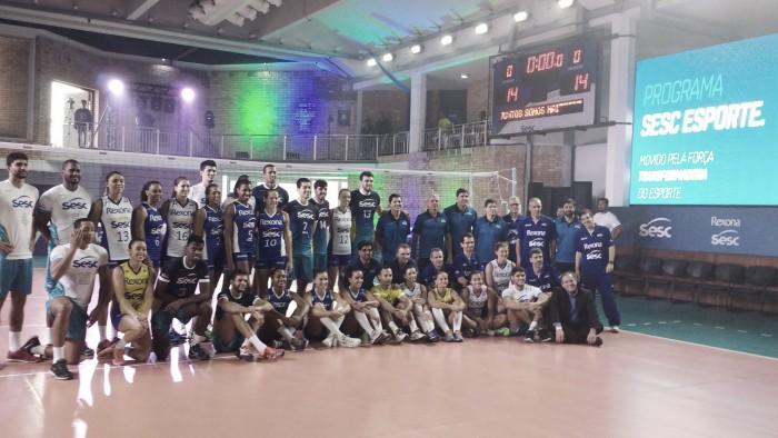 Rexona-Sesc apresenta seus times masculino e feminino para a temporada 2016/17