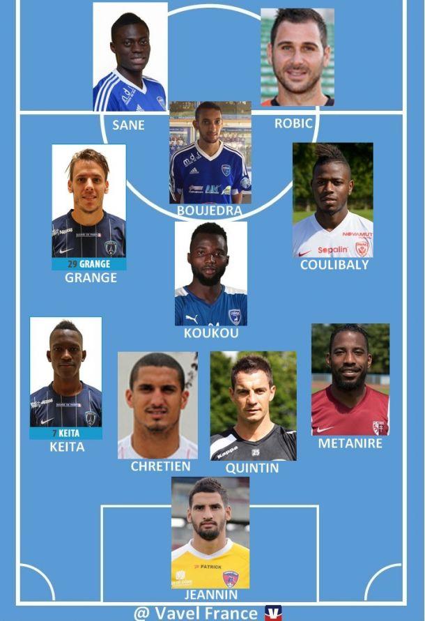 Ligue 2 : Equipe Type de la 3ème journée