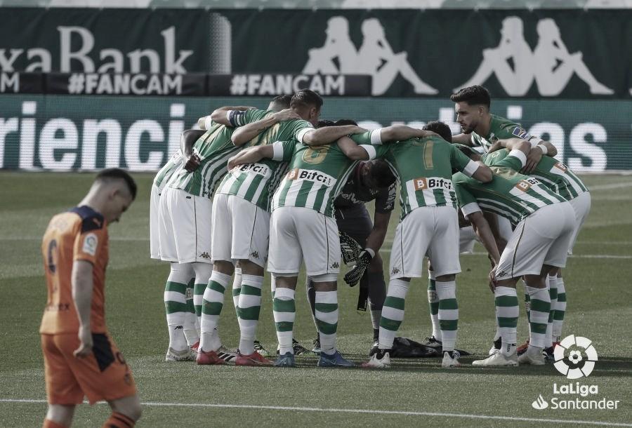 Real Betis Balompié – Valencia CF: puntuaciones del Real Betis, 33ª jornada de LaLiga Santander