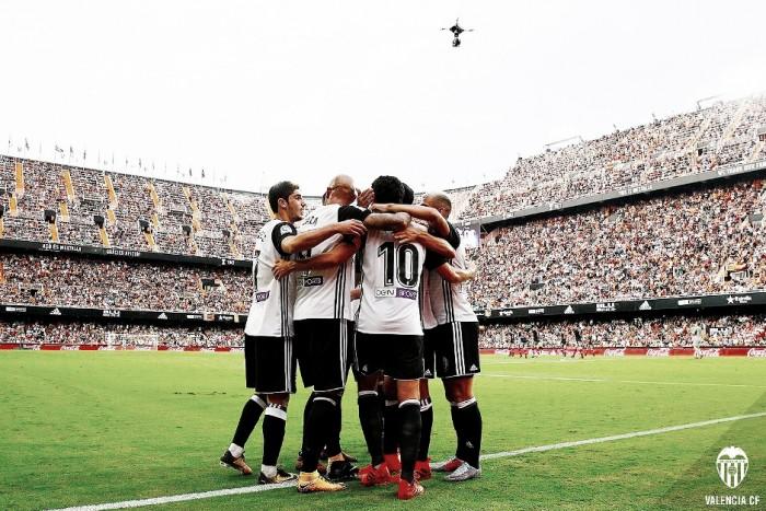 El Valencia se mantiene invicto durante las siete jornadas