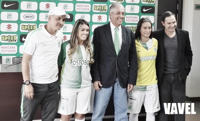 Atlético Nacional presentó su equipo profesional femenino para el 2018