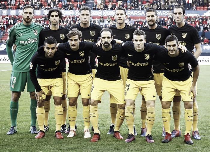 Osasuna - Atlético de Madrid, puntuaciones del Atleti, jornada 13