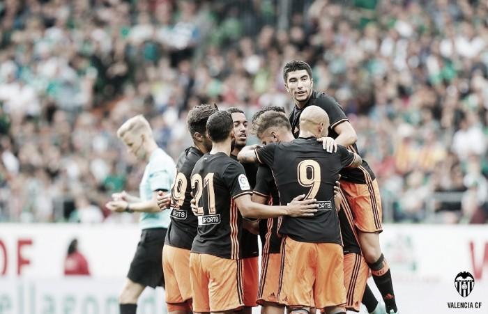 Werder Bremen - Valencia CF: puntuaciones del Valencia, pretemporada