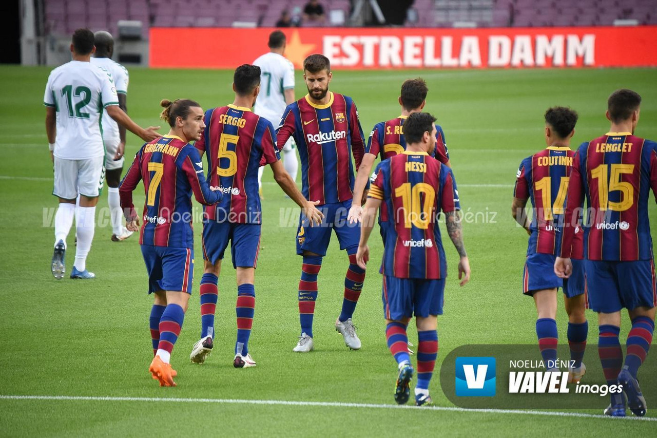 Busquets y Messi siguen agrandando su leyenda