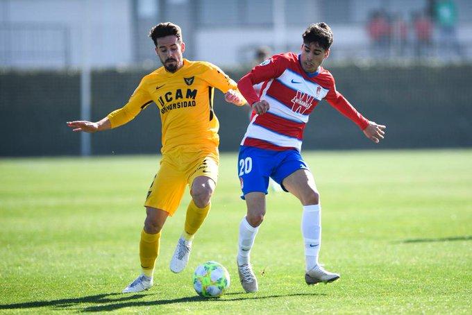 Durísima derrota del Recreativo Granada contra el UCAM Murcia