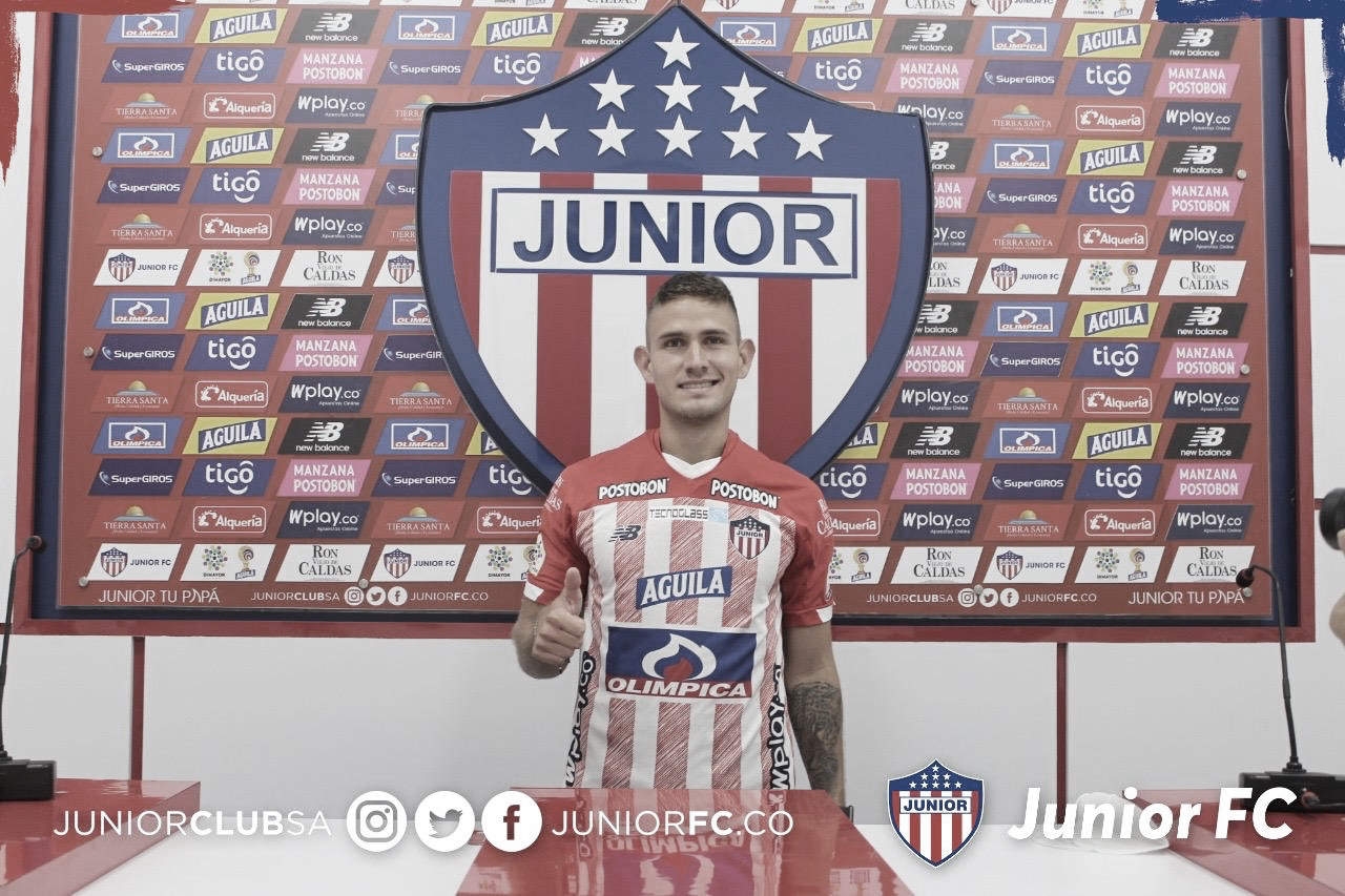 Juan David Rodríguez, nuevo jugador del Junior