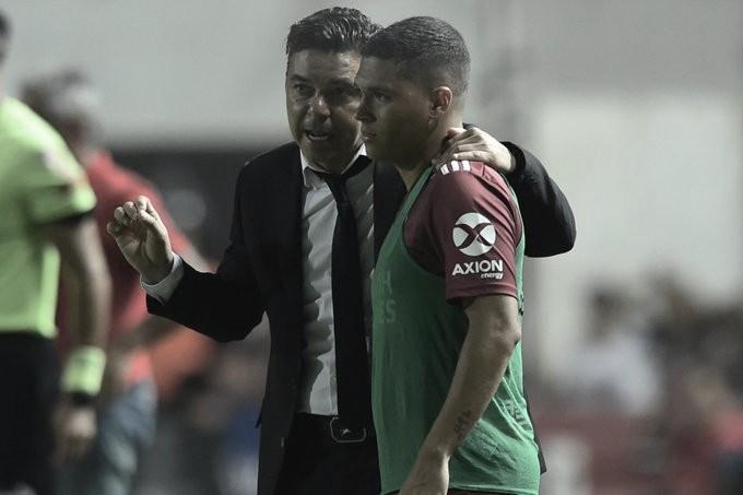 """Gallardo: """"El partido fue difícil como mi semana"""""""