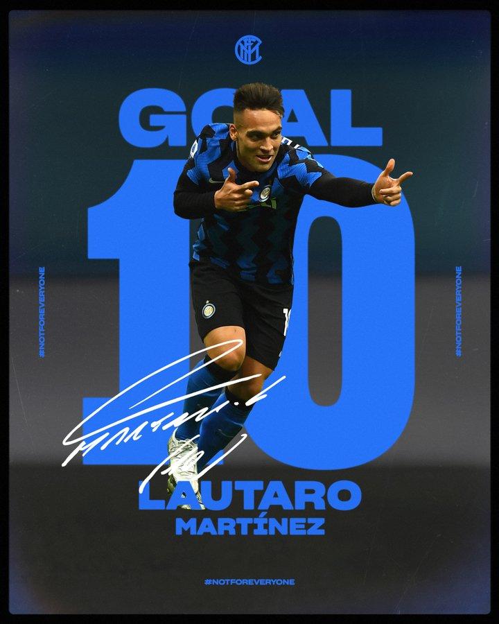 L'Inter dilaga 6-2: battuto il Crotone grazie ad una tripletta di Lautaro Martinez