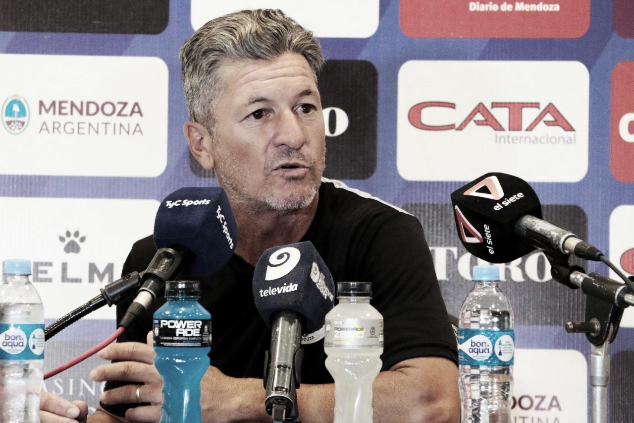 """Sciacqua: """"El partido de mañana es importante, se hable o no de mí"""""""