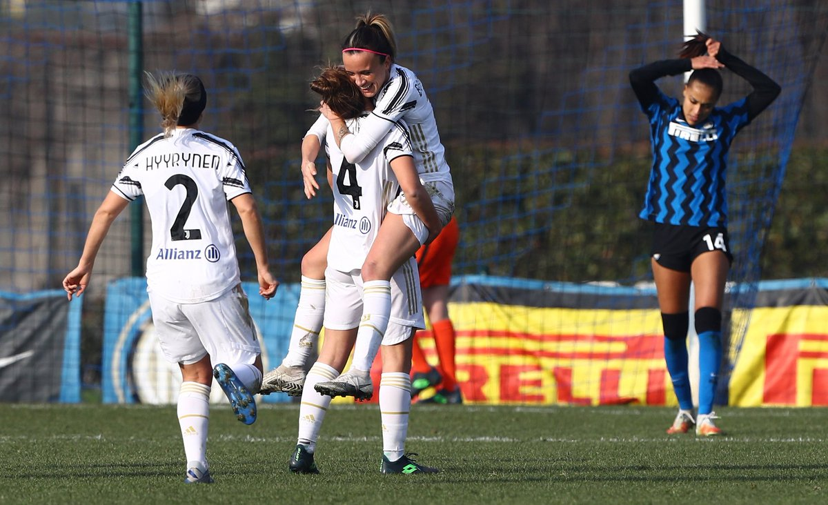 Serie A Femminile: Girelli,Galli e Pedersen. La Juventus women vince