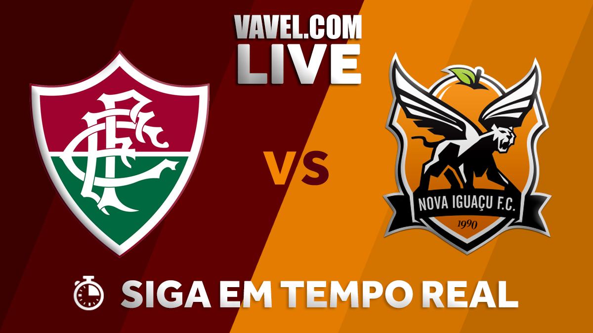 Fluminense vence Nova Iguaçu; veja como foi o tempo real