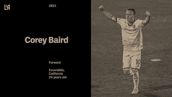 Corey Baird firma por Los Angeles FC