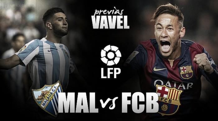 Málaga CF – FC Barcelona: un equipo renacido aguarda en La Rosaleda