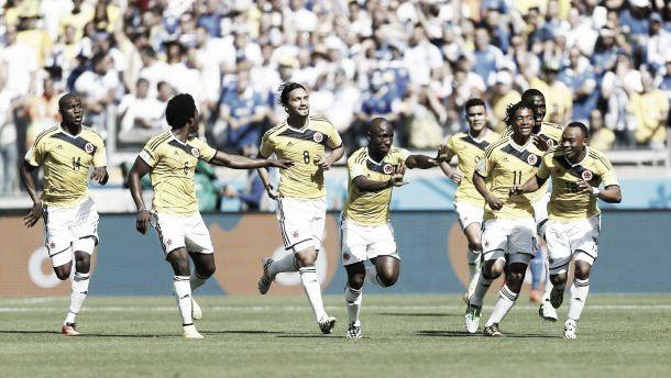 La Colombie un ton au dessus de la Grèce