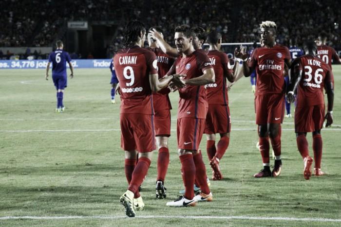 Promessas marcam e PSG derrota Leicester em seu último amistoso preparatório para 2016/17