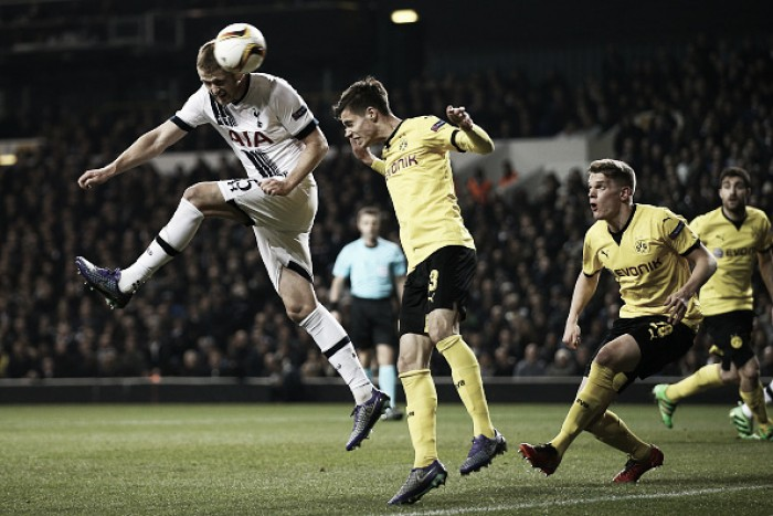 Tottenham (1) 1-2 (5) Dortmund Analysis: Spurs more balanced in home tie