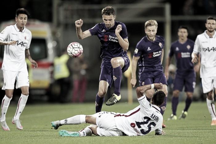 Bologna vs Fiorentina en vivo y en directo online en Serie A 2016 (0-0)