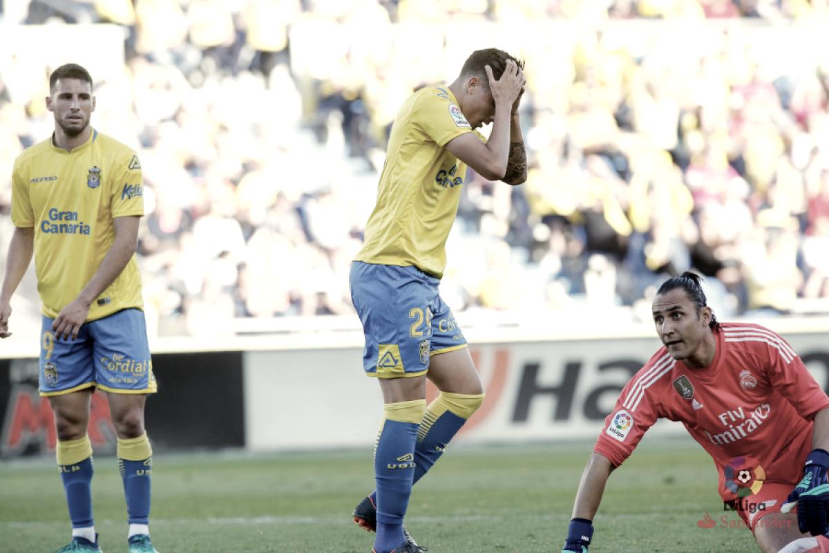 Las Palmas, tercer equipo con menos goleadores de las cinco grandes ligas