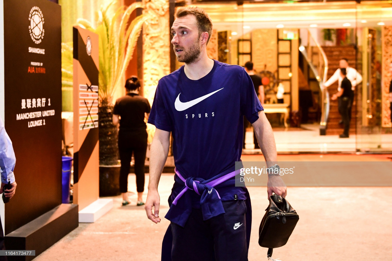 Manchester United end interest in Christian Eriksen who has heart set on Real Madrid