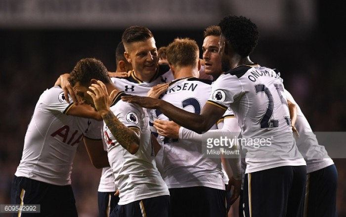 Tottenham Hotspur 5-0 Gillingham: Five-star-Spurs set up last 16 meeting with Liverpool