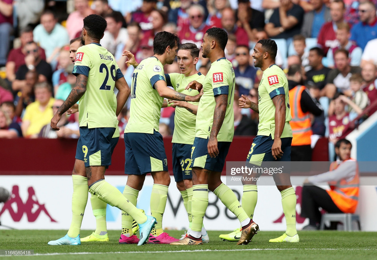 Aston Villa 1-2 AFC Bournemouth: King and Wilson guide Bournemouth to victory and pile misery on Villa
