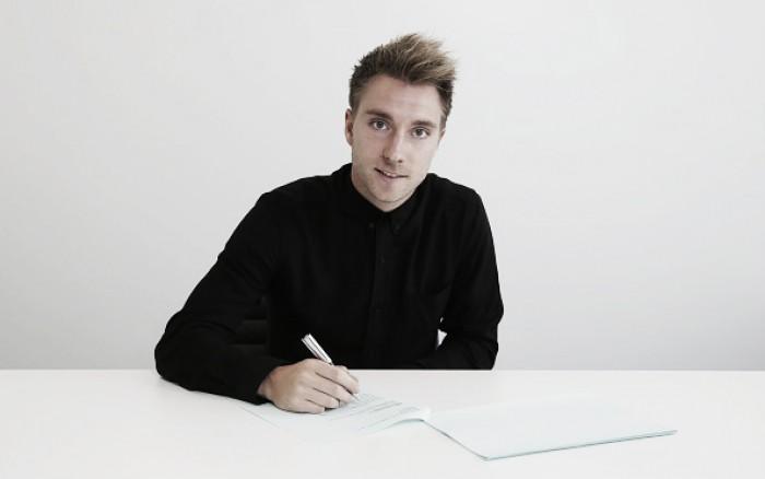 Tottenham anuncia extensão de contrato do meia Eriksen até 2020