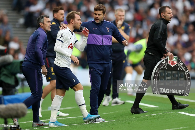 'It is not a good situation': Pochettino speaks out on Eriksen saga ahead of the European transfer deadline