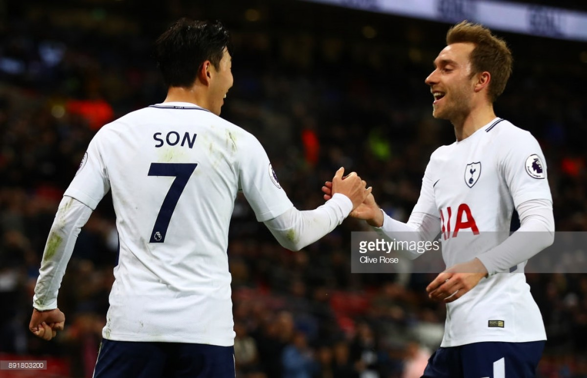 Christian Eriksen says Tottenham are finding peak form at the right time