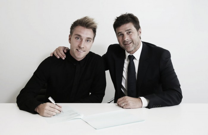 Christian Eriksen signs new four-year deal with Spurs until 2020