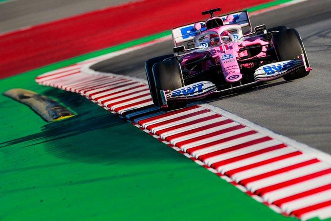 Test Formula 1, Day-4: Kubica chiude primo, spaventa la Racing Point