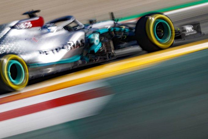 Test Formula 1, Day-1: Bottas il più veloce della mattinata