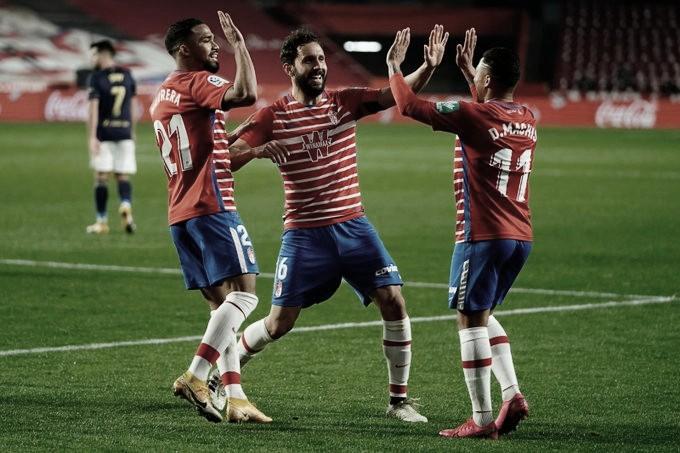 Granada CF - Osasuna: puntuaciones del Granada, jornada 4 de la Liga