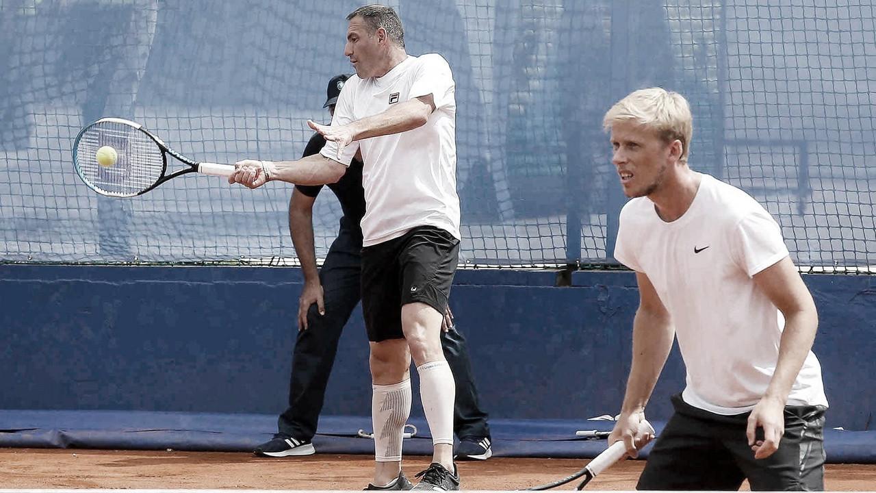 Ao lado de Goransson, brasileiro Rafael Matos perde final do ATP 250 de Belgrado 2