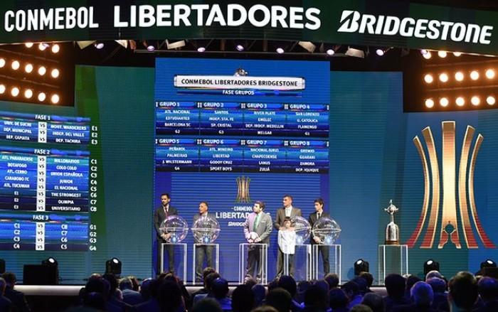 Sorteio da Libertadores e Sul-Americana 2017