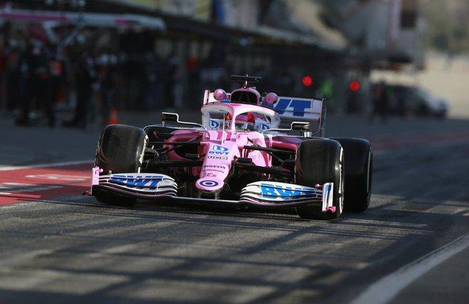 Test Formula 1, Day-2: Perez in testa, sorprende ancora la Mercedes