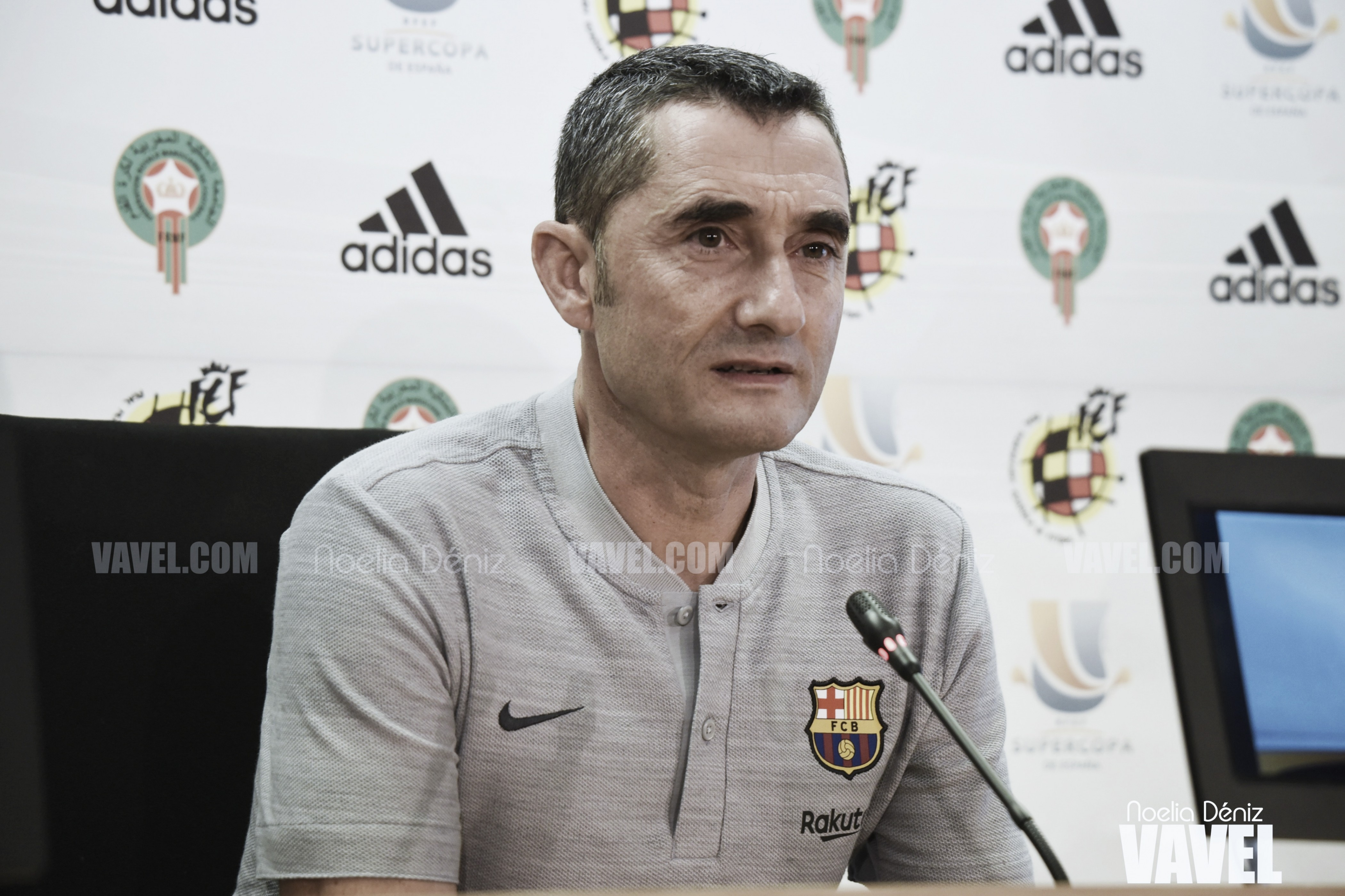 """Ernesto Valverde: """"Es un partido históricamente difícil"""""""