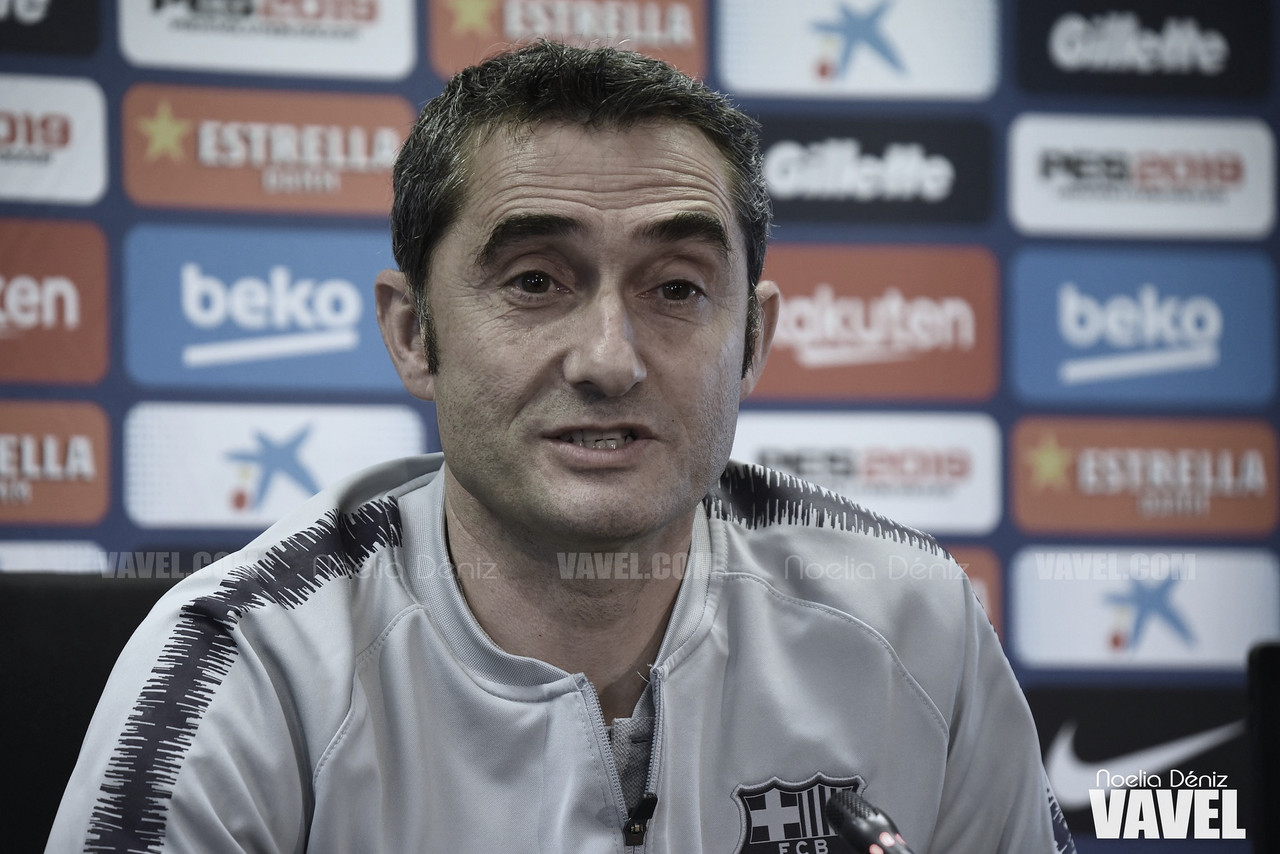 """Ernesto Valverde: """"El balance de la Liga es bueno"""""""