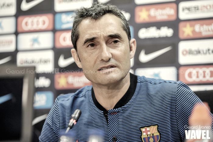 """Ernesto Valverde: """"Es un alivio no tener a Messi como rival"""""""