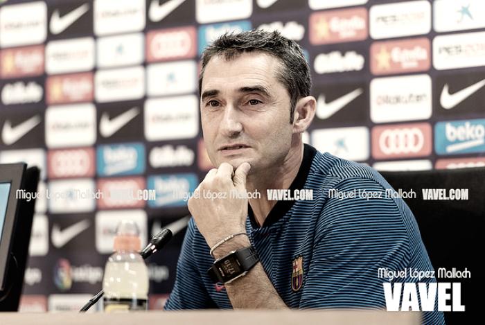 """Ernesto Valverde: """"Hemos ganado donde teníamos que ganar"""""""