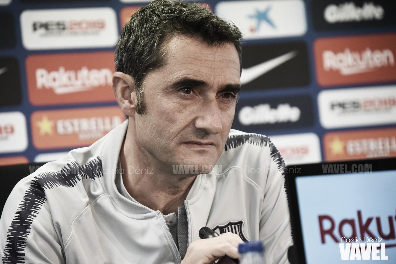 "Ernesto Valverde: ""Todos sabíamos que Messi volvería con Argentina"""