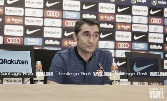"""Valverde: """"No me gustan las plantillas muy largas"""""""
