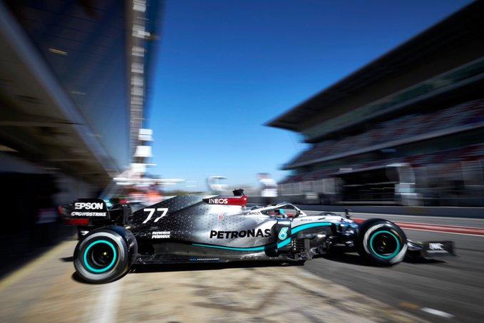 Test Formula 1, Day-3: Bottas fa il vuoto, problemi per la Ferrari