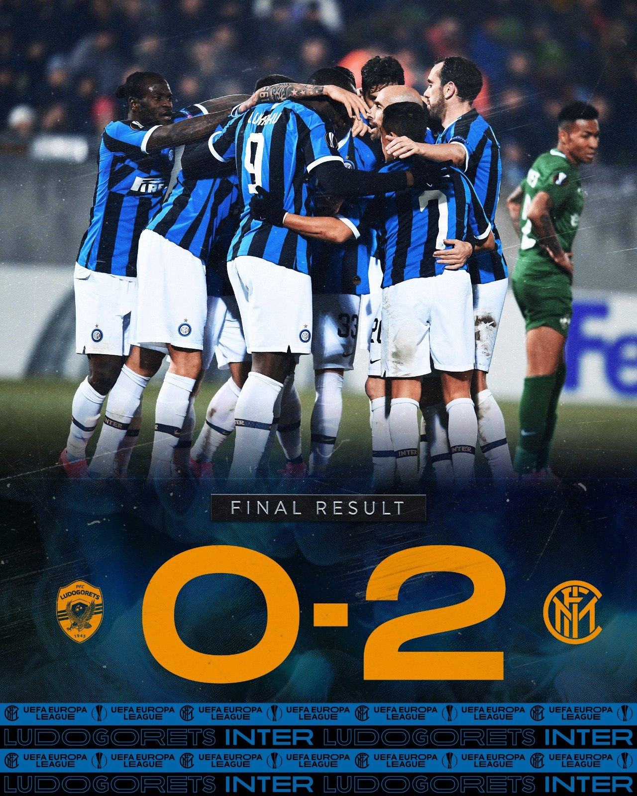 L'Inter ipoteca la qualificazione: Eriksen e Lukaku mettono KO il Ludogorets