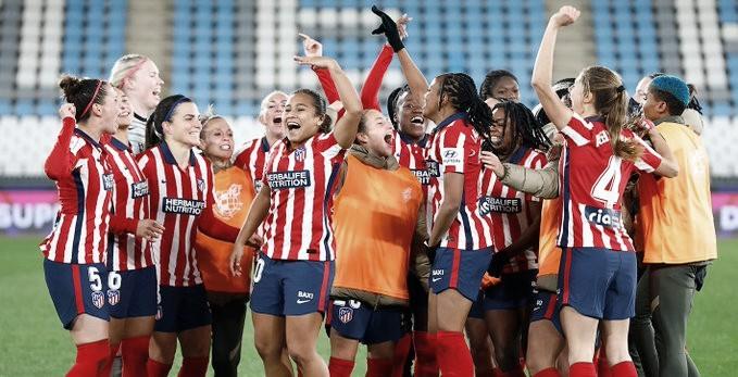 El Atlético de Madrid fem avanzó a la final de la Supercopa de España