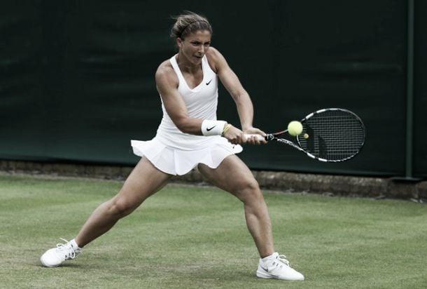 Live Errani - Krunic, secondo turno Wimbledon 2015  (1-2)