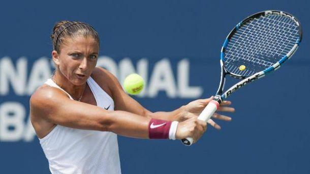 WTA Lussemburgo: fuori la Errani, si ritira la Bacsinszky