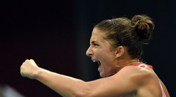 WTA Dubai: eterna Errani, batte la Brengle in tre set e vola in semifinale