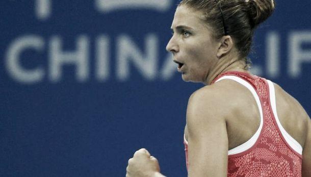 WTA Lussemburgo: Errani avanza a fatica