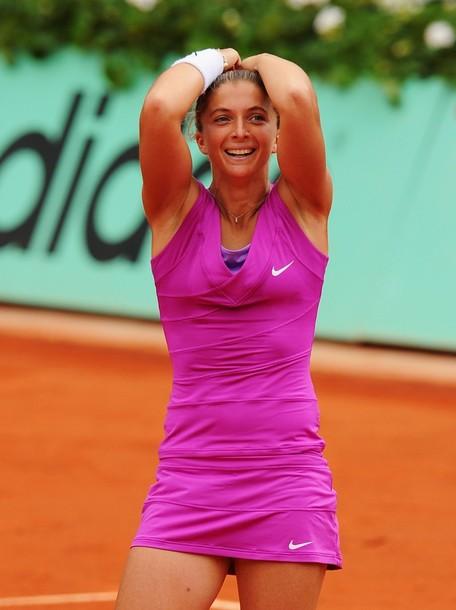 Roland Garros: Sara Errani no despierta de su sueño